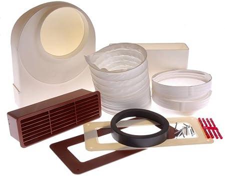 Neff Z5624x0gb Cooker Hood Ducting Kit 125mm Diameter Up To 3m Run Amazon Co Uk Kitchen Home