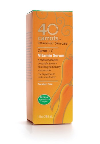 Price comparison product image 40 Carrots Vitamin Serum, 1-Ounce Boxes