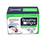 Breathe Right Extra Strength Clear Strips Reduces