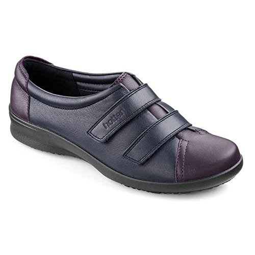 HotterLeap Ee 62181 - Zapatos con velcro Navy/Loganberry