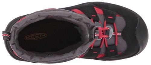 Keen Unisex-Kinder Winterport II WP Trekking-& Wanderstiefel TANGO RED/BLACK