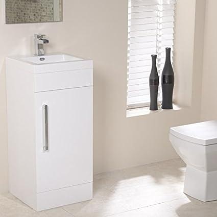 Mueble lavabo de pie latest mueble bano para lavabo de - Armario bajo lavabo pie ...