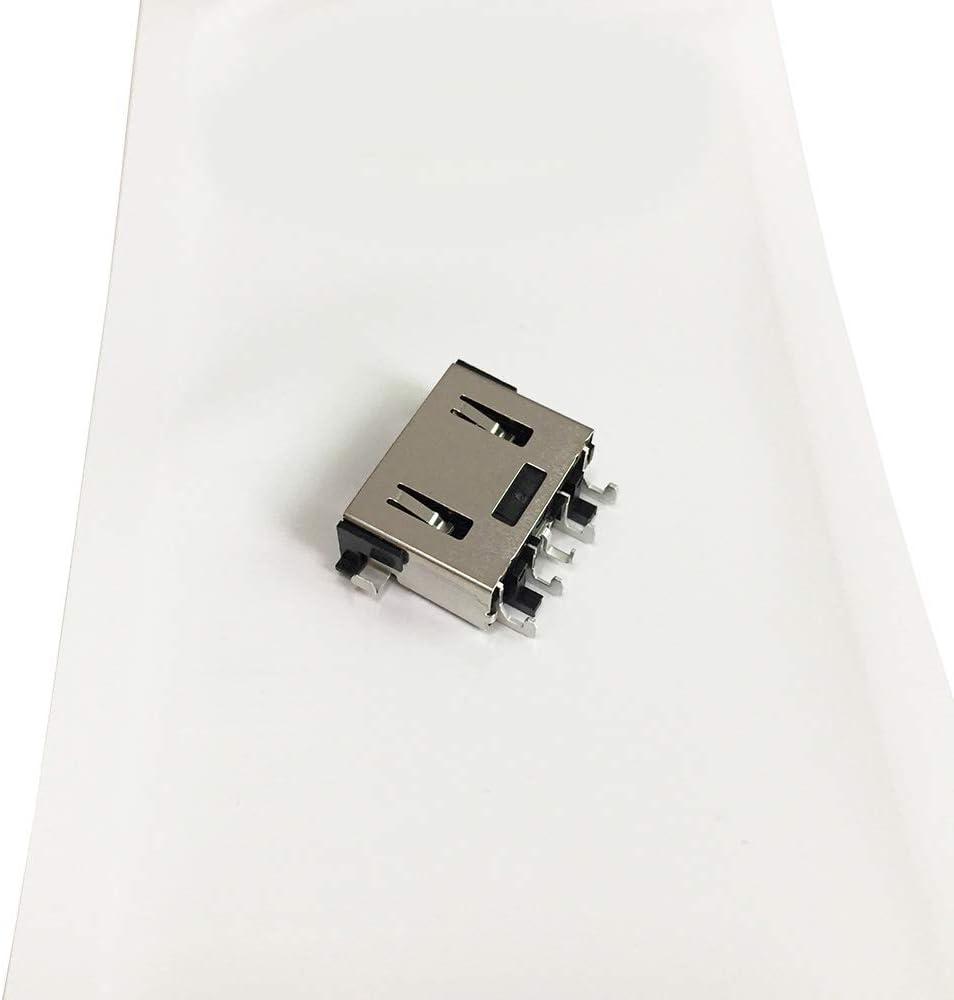 DC Power Jack Charging Port DC Plug Connector Socket for Lenovo Legion Y7000 Y7000P Y545 Y530 Y530-15ICH Series Laptop (Not fit for Lenovo Ideapad Y530)
