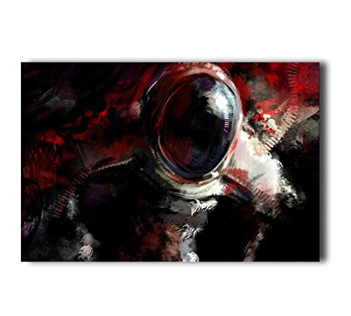 - Poster Hmbrothers Stylish Art Print Outer Space Astronauts Pattern Print Wall Decorative Wall Poster 20-Inch By 30-Inch