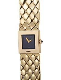 Chanel quartz womens Watch (Certified Pre-owned)