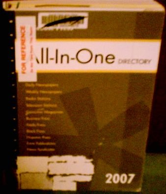 Gebbie Press All In 1 Directory 2007 (GEBBIE PRESS ALL-IN-ONE DIRECTORY)