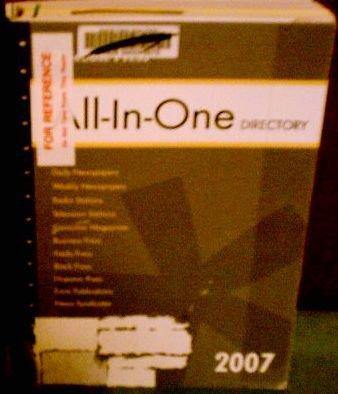 Gebbie Press All In 1 Directory 2007 (GEBBIE PRESS ALL-IN-ONE DIRECTORY)