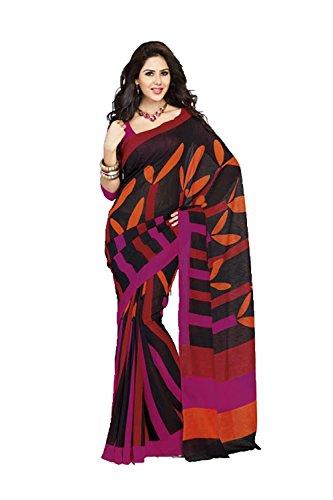 daindiashop-USA Indian Women Designer Party Wear Multicolor Color Saree Sari - Shipping Designer Free Replica Clothing