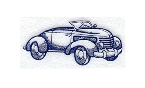 Ladies Roadster (Roadster Classic Car Custom Embroidered Sweatshirt Shirt)