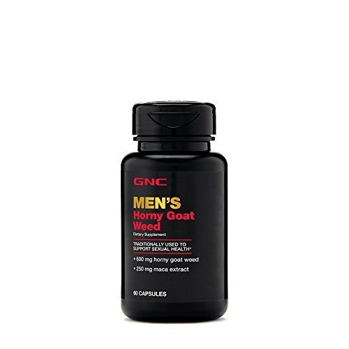 - GNC Horny Goat Weed - 60 Capsules