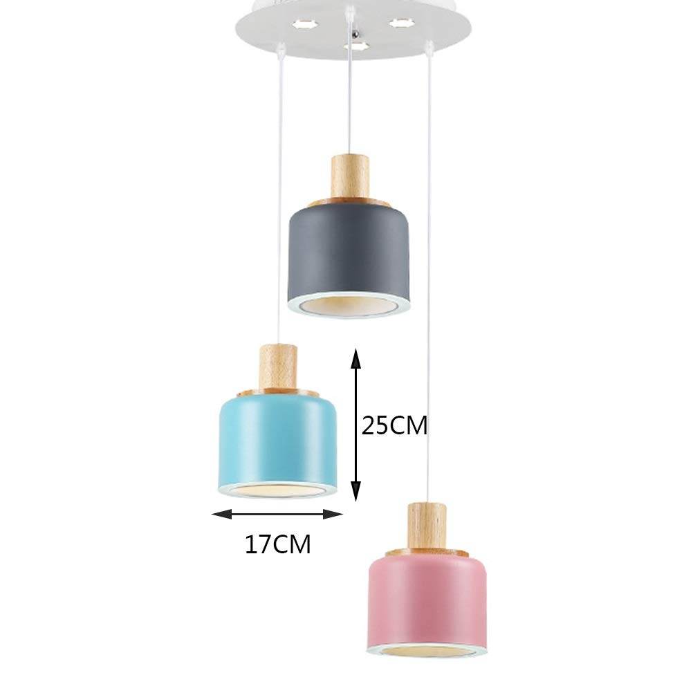 Moddeny Rustic Retro Adjustable Chandelier Weathered Wooden Globe Metal Orb Crystal Ceiling Pendant Light For Restaurant Cafe Tea Shop Vintage Meals Droplight E14*5-Light