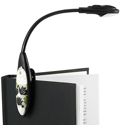 The Little Book Light Clip On LED Reading Light - Beige / Green / White / Black
