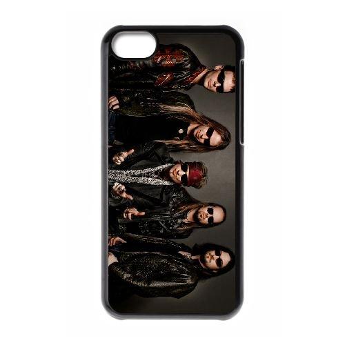 Edguy 004 coque iPhone 5C Housse téléphone Noir de couverture de cas coque EOKXLLNCD17287