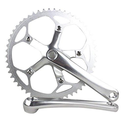- SENQI Road Bike Track Crankset Single 53T