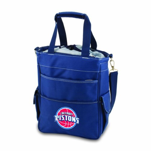 NBA Detroit Pistons Insulated Activo Cooler Tote, Navy by PICNIC TIME by PICNIC TIME