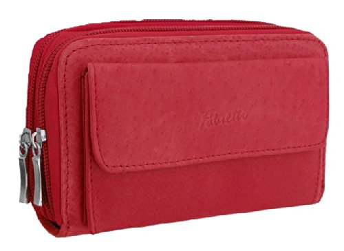 Red Purse Leather Fabretti EyeCatchBags Womens IxZqnw
