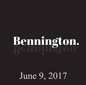 Bennington, Talib Babb, June 9, 2017 Radio/TV Program