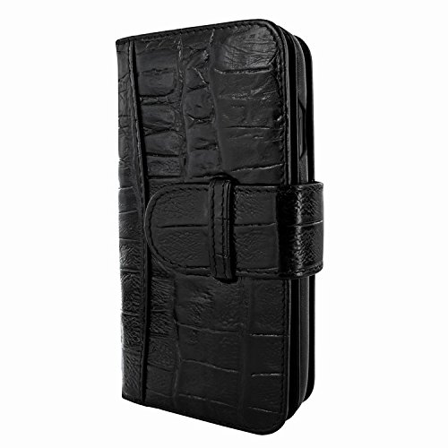 Piel Frama 793 Black Wild Crocodile WalletMagnum Leather Case for Apple iPhone X by Piel Frama (Image #1)