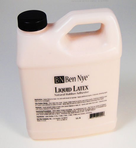 Ben Nye Liquid Latex jug - 32 oz (flesh tone) LL-5 by Ben Nye