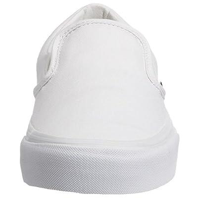 Vans Classic Slip On, True White, 6.5 B(M) US Women's / 5 D(M) US Men's