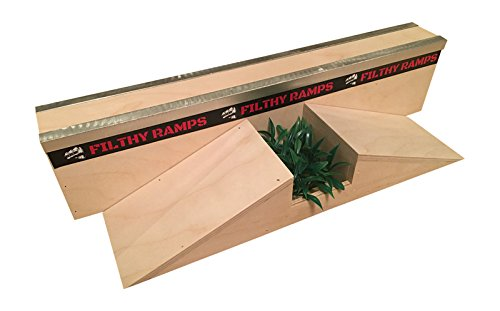 Filthy Fingerboard Ramps Washington Wall Gap Ramp for Tech Decks from by Filthy Fingerboard Ramps