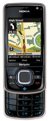 Nokia 6210 Navigator black (UMTS, GPS, A-GPS, MP3, Speicherkarte, Navigationslizenz Kamera mit 3,2 MP) UMTS Handy
