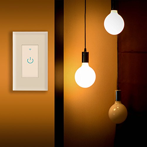 Wifi Smart Switch, Wifi Light Switch 2 Packs, Works with Amazon Alexa and Google Home, App Remote Control with Timing Funtion, No Hub Required (Neutral Wire Required) by Lesim (Image #4)