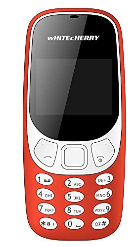 TechKing Whitecherry Bl5000 3310 Basic Feature Mobile Phonewith 1.8 inch Display 0.3 Mp Camera, Bluetooth