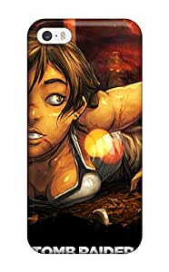Jesus Hutson castillo's Shop Best 1454830K25494515 Rugged Skin Case Cover For Iphone 5/5s- Eco-friendly Packaging(new Tomb Raider Art)