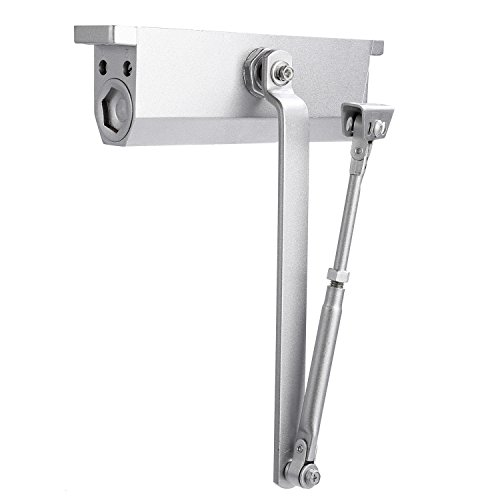 Modrine XXL Large Automatic Door Closer for Commercial and Residential Use Grade 1 Aluminum Alloy Door Close, for Larger Door Weight (Door Closer Adjustment)