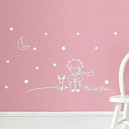 MOIKA Stickers Muraux Enfants Etoiles Lune Le Petit Prince Garçon ...