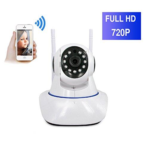 ShengyaoHul 720P HD Indoor Babyphone Plug-And-Play, 1 Mp Sistema Di Telecamere Di Sicurezza Casa Ip / Rilevamento Del Movimento / Inversione DellImmagine / Viene Con Pan / Tilt Telecamera Di Sorvegli