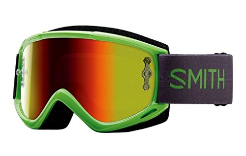 - Smith Optics Fuel V.1 Max M Adult Off-Road Motorcycle Goggles Eyewear - Reactor/Red/One Size Fits All