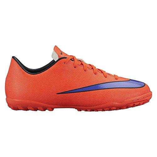 NikeMercurial Victory V - Zapatillas de Fútbol Entrenamiento  Niños-Niñas rojo