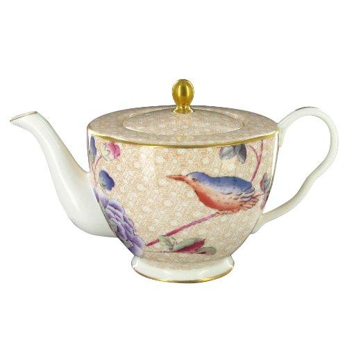 Wedgwood Harlequin Cuckoo Tea Story 12-1/2-Ounce Teapot