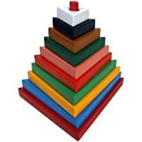 Little Genius Tower - Triangle, Multi Color (Big)