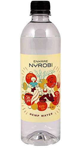 Enkare Nyrobi Premium Alkaline Hemp Seed Oil Spring Water - 12 Pack (oxo- biodegradable bottled water)