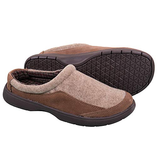 Image of Tempur-Pedic Men's Tan Slippers
