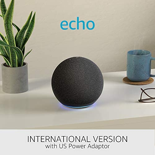All-new Echo (4th era) International Version | With top class sound, good house hub and Alexa | Charcoal