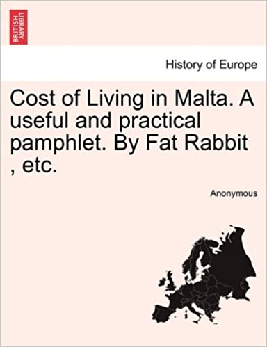 Book Cost of Living in Malta. A useful and practical pamphlet. By Fat Rabbit, etc.
