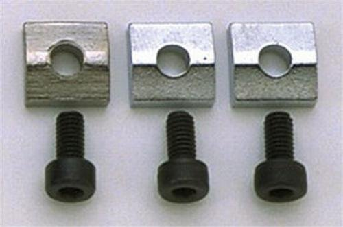 3 Nut Blocks for Floyd Rose/Schaller Locking Nut Chrome -