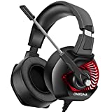 ONIKUMA K6 Stereo Gaming Headset for Xbox One, PS4, PC Over-Ear...