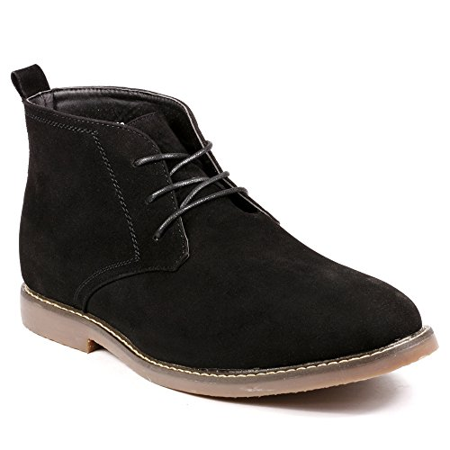 Chukka Casual Boots (Miko Lotti BF1302 Men's Lace Up Casual Fashion Ankle Chukka Boots (12,)