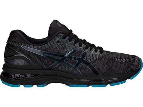 - ASICS Men's Gel-Nimbus 20 Lite-Show Running Shoes, 11.5M, Black/Black