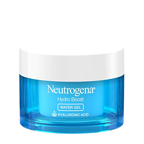 Neutrogena Hydro Boost Hyaluronic Acid Hydrating Water Gel Daily Face Moisturizer for Dry Skin, Oil-Free, Non…