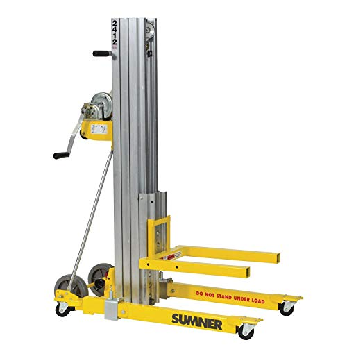 Sumner Manufacturing 784750 2412 Contractor Lift, 12' Height, 400 lb. Capacity