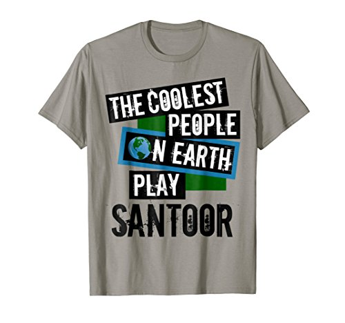 The Coolest People on Earth Play Santoor Cool String Instrument T-Shirt