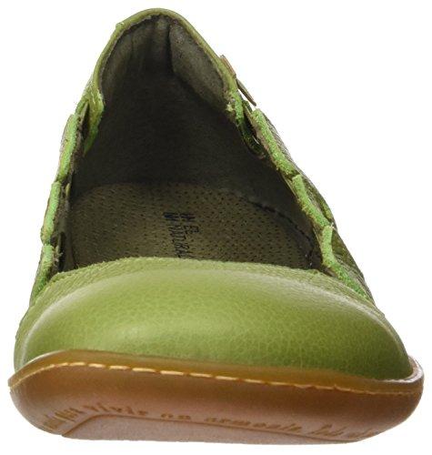 El Grain Naturalista Scarpe Piattaforma Verde El Donna Soft N5272 Viajero Green con HBHqra
