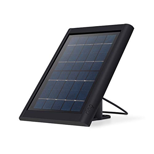 Ring Super Solar Panel - Compatible with Ring Spotlight Cam Battery and Stick Up Cam Battery - Black ()