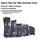 Heavy Duty Zip Ties, Nylon Cable Zip Ties Wire